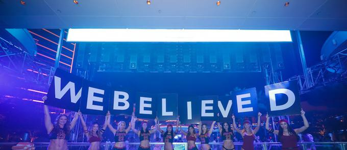 Cleveland Celebrates Championship Win At XS Nightclub