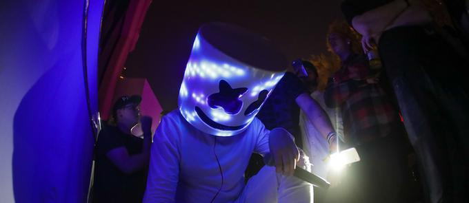 Marshmello Takes Over Industry Night At Intrigue Nightclub