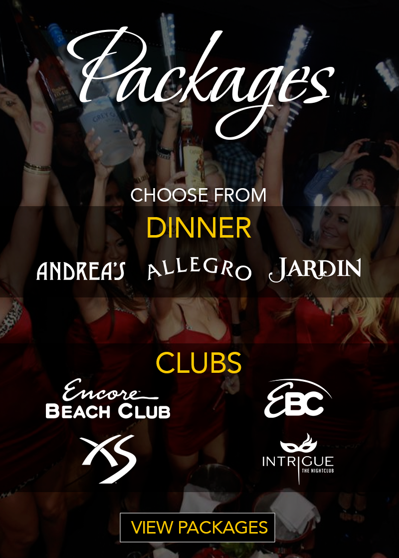 XS Nightclub Bachelorette Packages